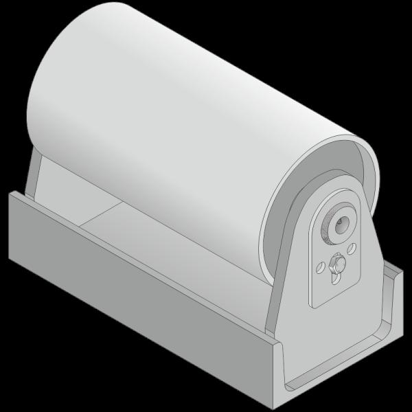 40mm Achs Ø / Gesamthöhe 240mm -Achsschmierung-