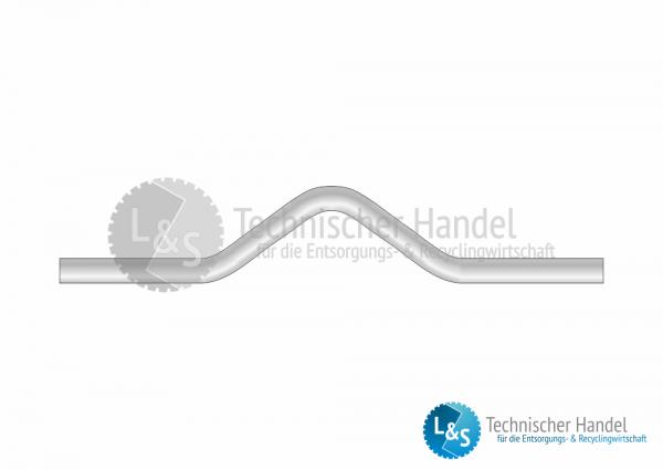 Aufnahmebügel hohe Form Ø 50mm