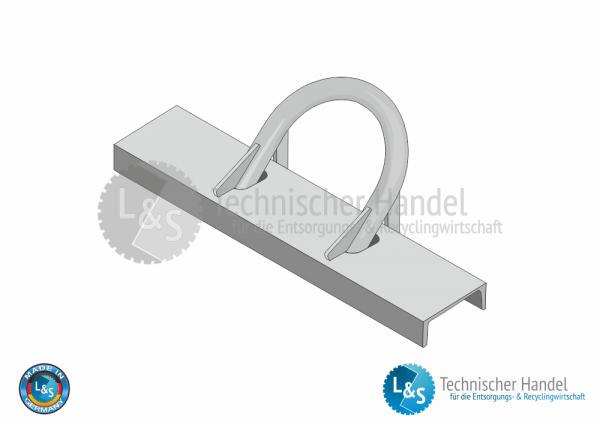 Aufnahmebügel kpl. Ø 60mm / U200
