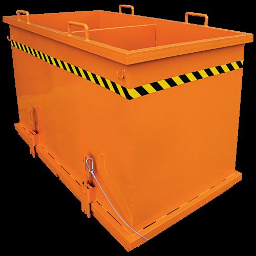 Abfall-Klappbodenbehälter zum Sortieren 2036_1