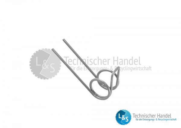 Feder für Sicherungsklappe GKC - SKC 13-8