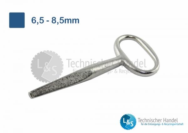 Außenvierkantschlüssel 6,0mm - 9,5mm