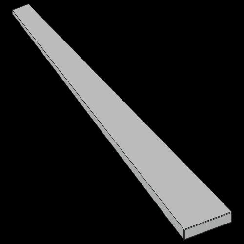 Flachfederstahl - 40x5,0x875 mm
