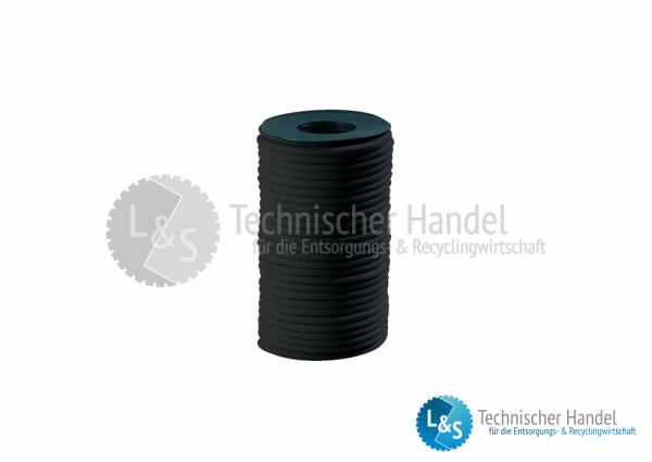 Expanderseil 8mm schwarz