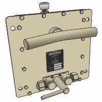 Hydraulikpume System Weber, doppelwirkend