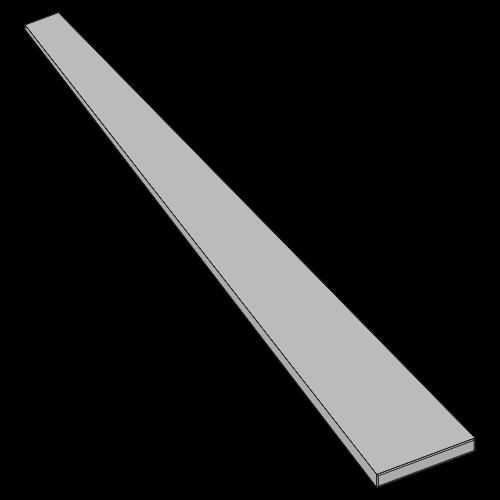 Flachfederstahl - 40x3,0x875 mm