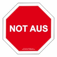Not aus !