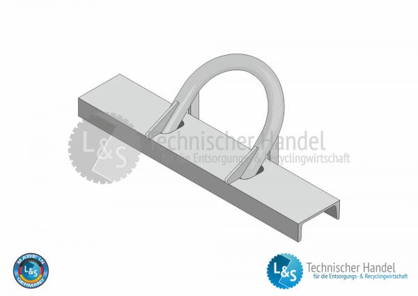 Aufnahmebügel kpl. Ø 60mm / U180