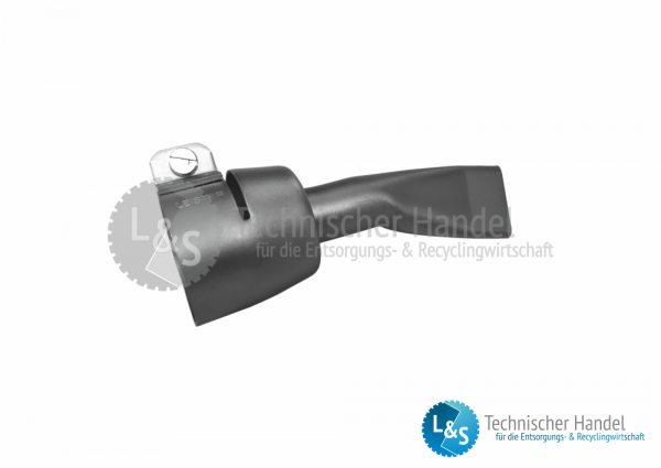 Breitschlitzdüse 20mm gekröpft zu Triac ST
