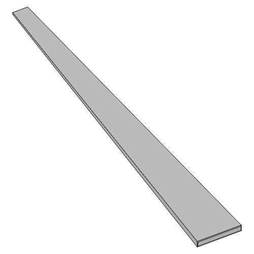 Flachfederstahl - 35x2,5x875 mm