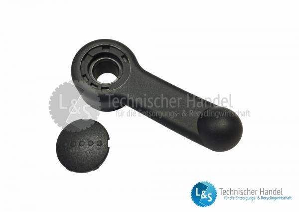 Umschalthebel für Hydraulikpumpe System 1