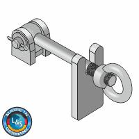 Verriegelung -System Augenschraube- M16