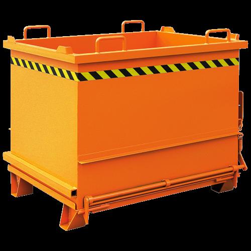 Baustoff-Container mit Klappboden 2035