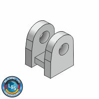 Containerbock für Augenschraube M20