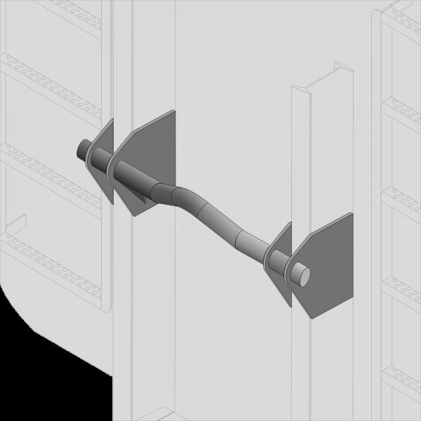 Reparatursatz Abrollcontainer-Bügel Ø50