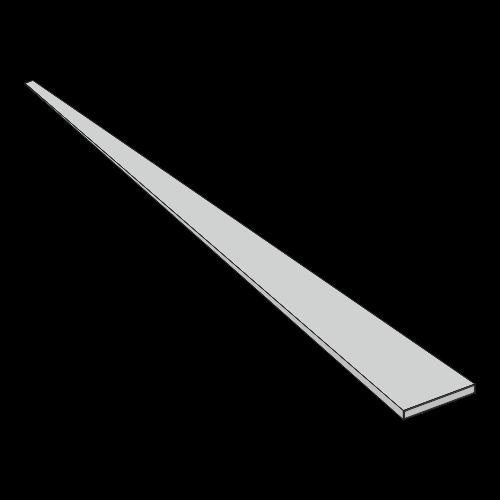 Flachfederstahl - 35x2,5x1750 mm