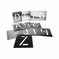 Alphabet Schablonensatz 26tlg.